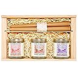 Rare Hawaiian Organic Oahu Gift Box - Kiawe, Ginger and Lavendar Infused Honey
