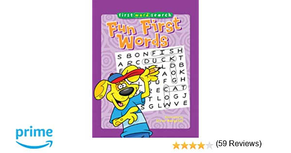First Word Search: Fun First Words: Steve Harpster: 9781402778070 ...