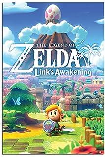 Amazon Com Legend Of Zelda Link S Awakening Poster Maxi
