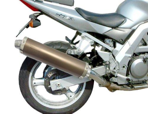 BMW R1150GS 1999-2006 Endy Exhaust Silencer Supra Ti Color