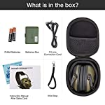 awesafe GF01+ Réduction du bruit Maximiser le son Sécurité électronique Casque antibruit, Protection de l'ouïe, Idéal… 10