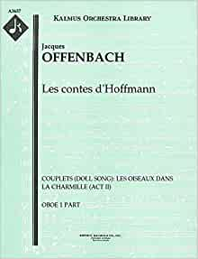 Les contes d 39 hoffmann couplets doll song for Ui offenbach