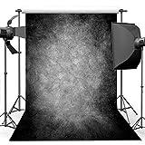 Best Portrait Photographers - ANVOT 5x7 ft Photography Backdrops, Art Black Grey Review