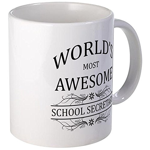 CafePress Worlds Awesome School Secretary