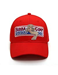Okaeienen Adjustable Bubba Gump Baseball Cap Shrimp CO. Embroidered Snapback Hats