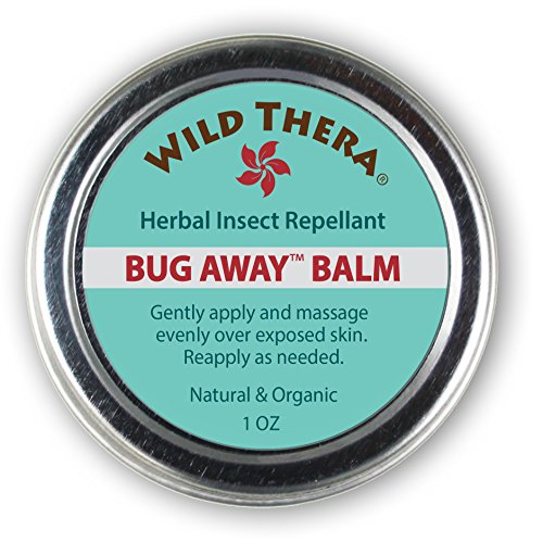 Insecticidal Organic (Herbal Insect Repellent Bug Balm. Natural Bug Repellent for Mosquitoes, Ants & Bugs. Non-Toxic Skin Protection. Works with Bug Spray, Bug Repellant Bracelets and Bug Zapping Devices.)