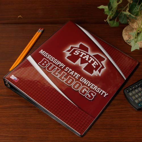 Turner Mississippi State Bulldogs 3 Ring Binder, 1 Inch (8180209) (Mississippi State Office Supplies)