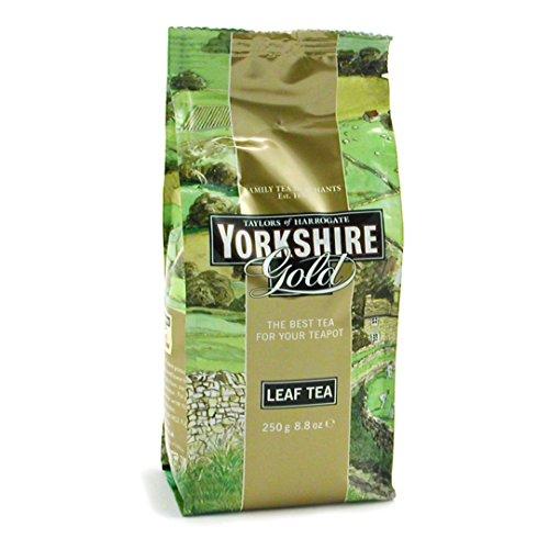 Yorkshire Gold Loose Leaf Tea (Pack of 6) (Gold Tin Leaf)