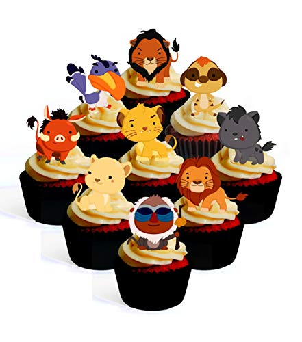 24 x Teletubbies Cupcake Fairy Cake Topper Edible Paper cake decoration toppers