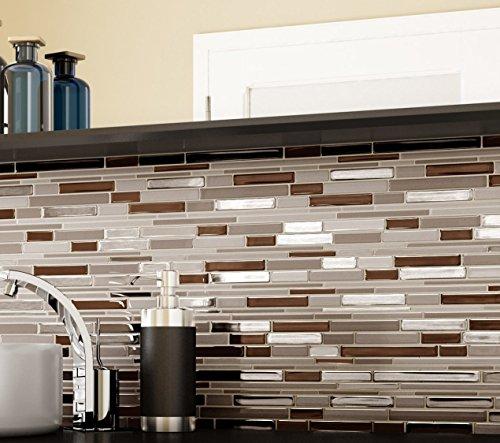 Piastrelle mosaico cucina adesive latest acquista for Mattonelle adesive