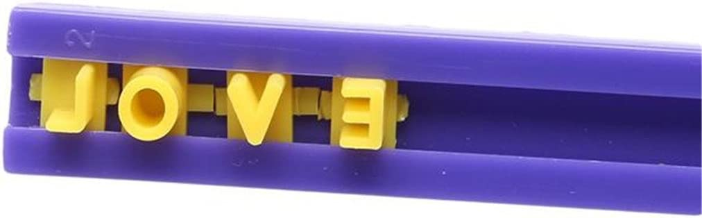 VWH Fondant Alphabet Cookie Embosser Mold