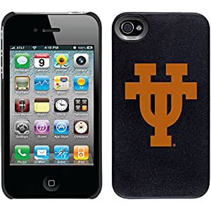 University Of Texas Ut design on Black iPhone 4s / 4 Thinshield Snap-On Case