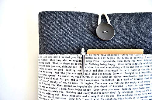 Words Laptop Sleeve Custom Size Fit For MacBook, Chromebook, Surface Pro 10-11.6