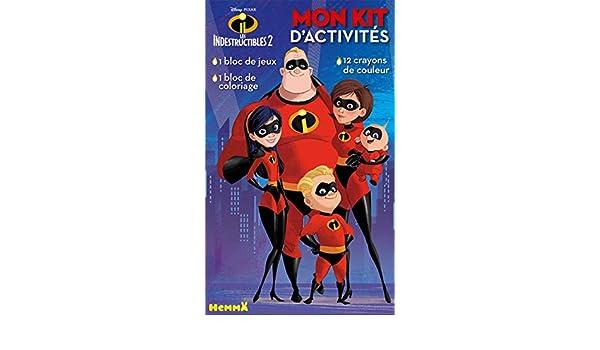 Mon Kit Dactivité Les Indestructibles 2 Avec 12 Crayons