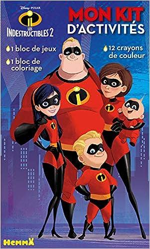Disney Les Indestructibles 2 Mon Kit D Activites Amazon Fr