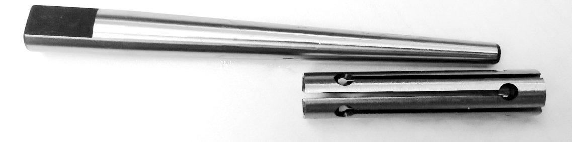HHIP 3902-3056 Steel Expanding Mandrel, 3/4'' - 7/8'' Size Range, 7'' Arbor Length, 3-1/4'' Sleeve Length