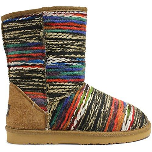 Lamo Women's Julep 10 inch Chelsea Boot, Chestnut, 9 M US by Lamo