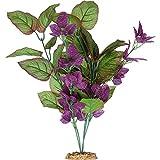 Imagitarium Purple Cluster Silk Aquarium Plant, Large
