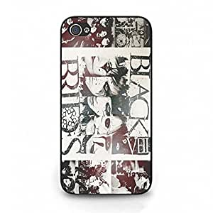 Unique Guitar Phone Case Cover for Iphone 4 4s BVB Unique Band