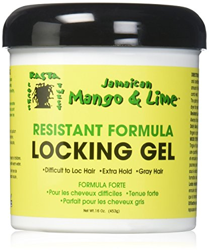 Jamaican Mango and Lime Resistant Formula Locking Hair Gel, 16 ()