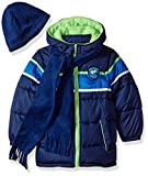 Best iXtreme Snow Jackets - iXtreme Toddler Boys' Colorblock Gwp Puffer, Navy, 3T Review