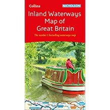 Collins Nicholson Inland Waterways Map of Great Britain (Collins Nicholson Waterways Guides)