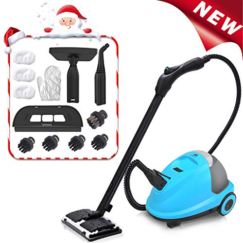 MLMLANT Multipurpose Steam Cleaner,2.5L Water tank Capacity 1600W Heavy Duty Steam Mops with 20-Piece Accessory Set for Home ,Kitchen Floors,Windows and Cars