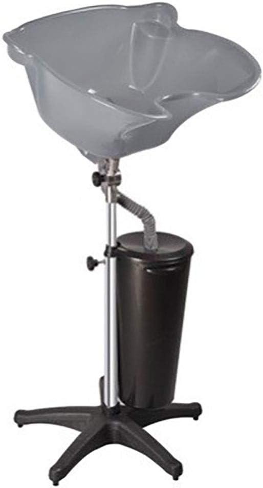 WDDMFR - Champú portátil, altura regulable y drenaje de champú para el cabello, equipamiento de belleza para ancianos, discapacitados y mujeres embarazadas