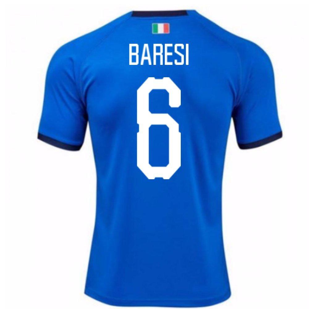 2018-19  Home Football Soccer T-Shirt Trikot (Francesco Baresi 6) - Kids
