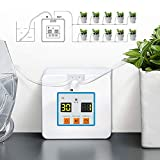 Automatic Drip Irrigation Kit, Self Watering System with Timer and USB Charging Cable, 30-Day Programmable Water Timer...