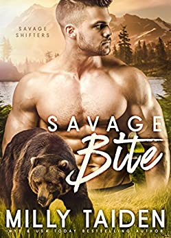 Savage Bite: BBW Paranormal Shape Shifter Romance (Savage Shifters Book 1) by [Taiden, Milly]