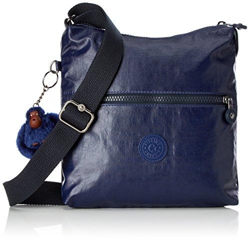 Kipling Zamor - Bolsos bandolera Mujer Azul (Lacquer Indigo)
