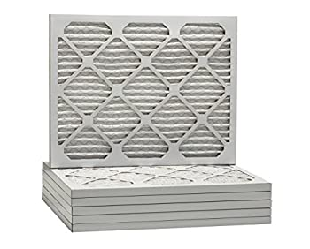 Aerostar 16 12x21 12x1 Merv 8 Pleated Air Filter, Pleated (Pack Of 6) 2