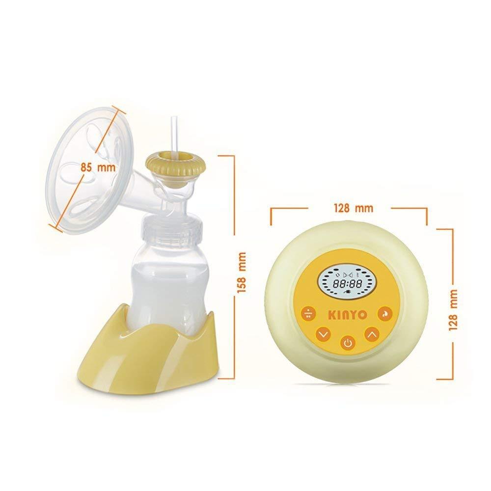 AnGeer Elektrische Milchpumpe automatische Massage mit einstellbarer Saugkraft Medium