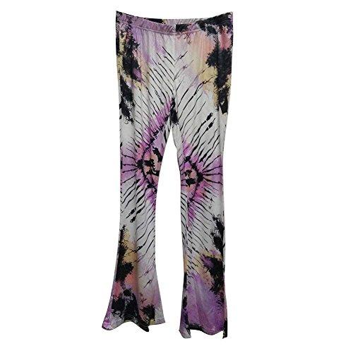 Pantalon Taille Spécial Plage Pour 2 De Haute Modèle D'été Confortable Élégant Tissu Moderne En Imprimés Style Elastische Couleur Femmes Long r1wzZvrqx