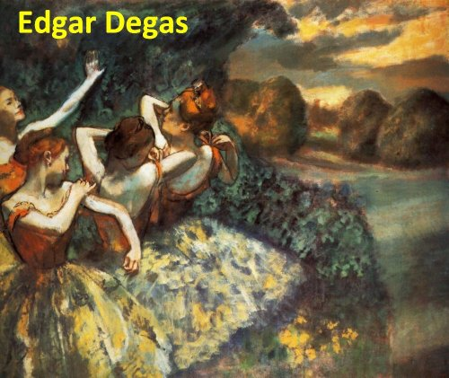 610 Color Paintings of Edgar Degas - French Impressionist Painter