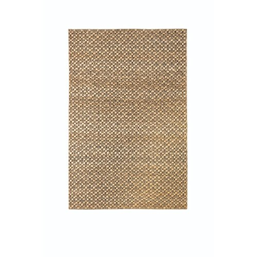 Home Decorators Collection Textured Jute Natural 5 ft. x 8 ft. Area Rug