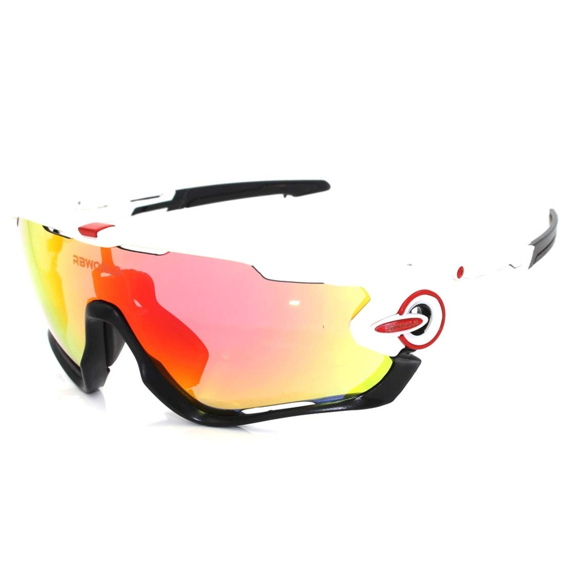 BAOYIT Riding Glasses Night Vision Fishing Mountaineering Running Sports Glasses Men and Women Riding Windproof Light Sports Glasses by BAOYIT