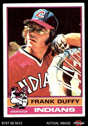1976 Topps # 232 Frank Duffy Cleveland Indians (Baseball Card) Dean's Cards 5 - EX Indians ()