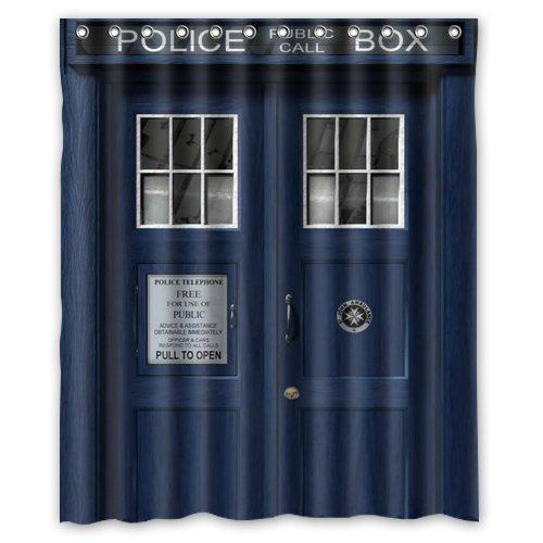 LIBIN Scottshop Custom Doctor Who Tardis The Doctor Shower Curtain Waterproof Polyester Fabric Bathroom Shower Curtains