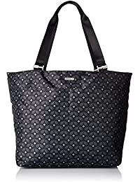 Carryall Travel Tote Bag - Lightweight, Spacious Travel Tote Bag with Organizational Interior Pockets and Zippered Exterior Pockets, Removable Wristlet