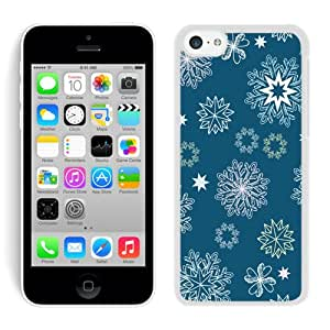 Different beautiful shapes of Snowflake top quality nice white iPhone6 case 4.7 inches protection shell for sale by LeTian Case