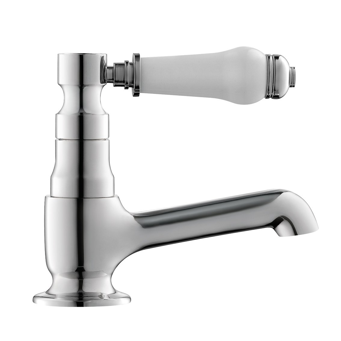 iBathUK Traditional Pair of Hot and Cold Basin Sink Taps Bath Filler Faucet Set TP135