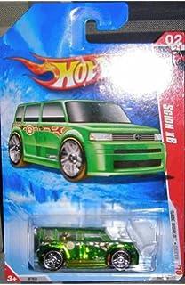 Hot Wheels  Earth Series  Translucent Green Scion Xb