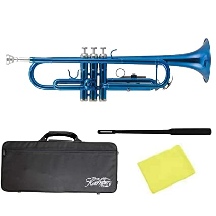 Amazon.com: kaerntner Color Azul metálico Trompeta ktr-30 ...