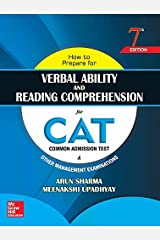 How to Prepare for Verbal Ability and Reading Comprehension for CAT Kindle Edition