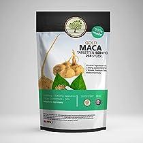 Maca Gold Pur. 250 Vegane Tabletten. Originalstärke. Ausreichend Für 4 Monate. Stärkster Maca Komplex VonBetter Originals USA.