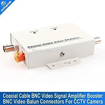 Elevadores conectores BNC Balun ARBUYSHOP cable coaxial Amplificador de vídeo CCTV Señal