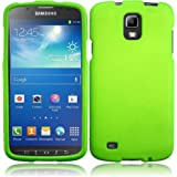 For Samsung Galaxy S4 S 4 Active i537 i9295 Hard Cover Case Neon Green Accessory