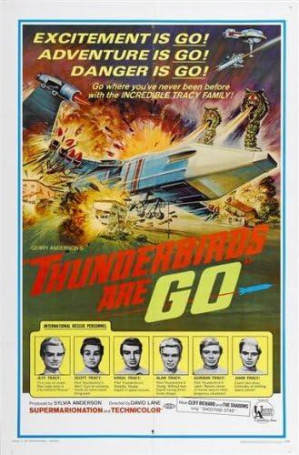 THUNDERBIRDS ARE GO Movie POSTER 27x40 Sylvia Anderson Ray Barrett Alexander